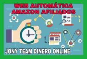 Web automática para Amazon Afiliados