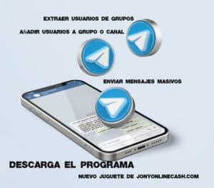 Programa para Marketing en Telegram. (Descarga de programa)