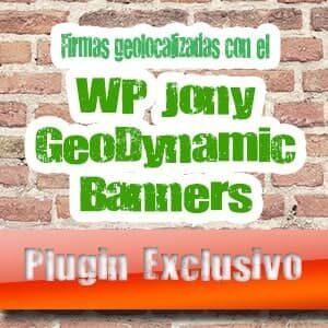 Geolocaliza Tus Firmas En Los Foros Con El WP Jony Geodynamic Banners