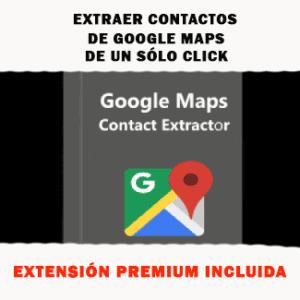 Extracción de datos de google maps business automáticamente